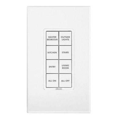 Button Change Kit for Insteon Keypads, 50-Button - White