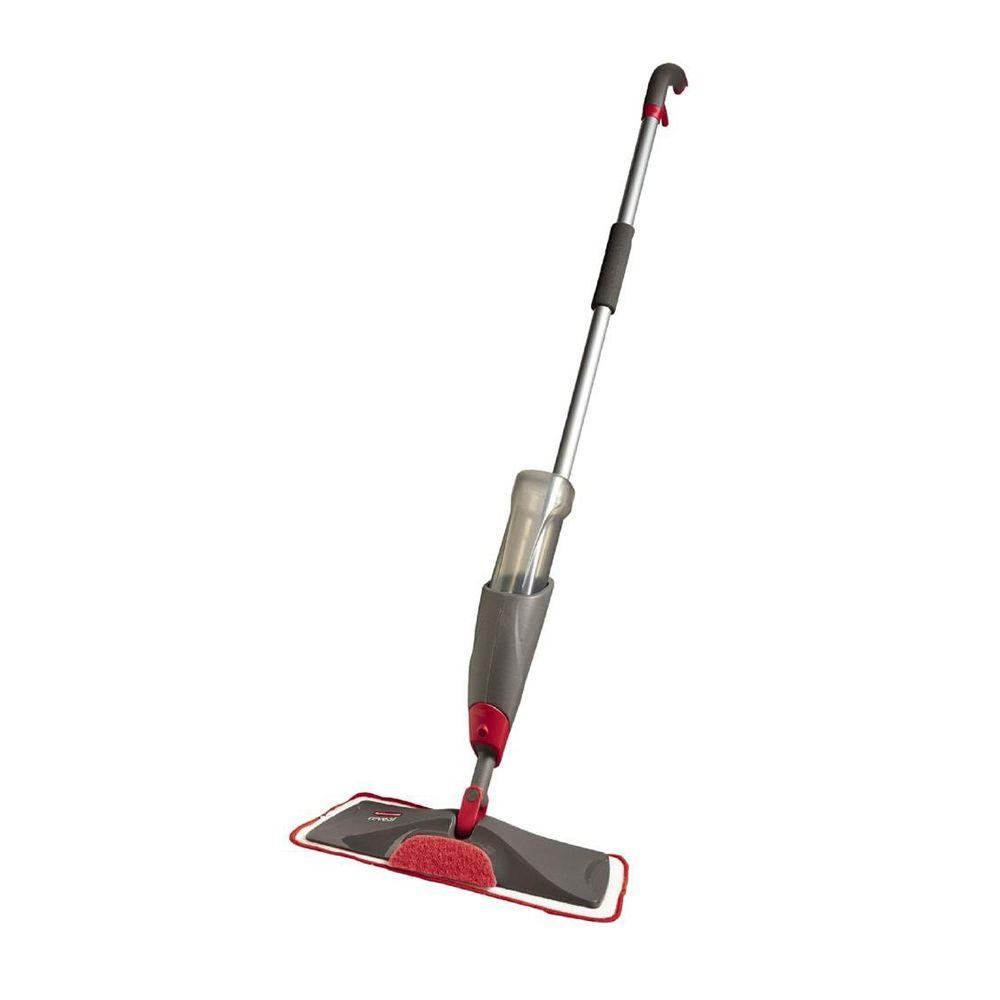 Rubbermaid Reveal Microfiber Spray Mop Fg1m15pqgryrd The