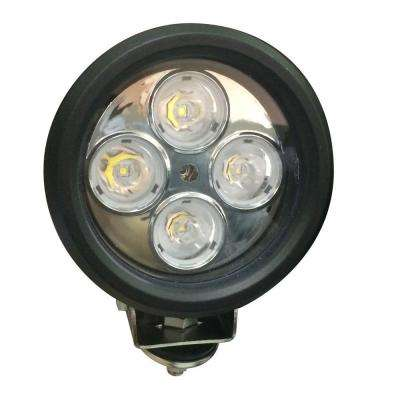 LED 4 in. Round Work Light