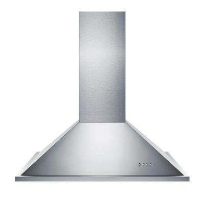 36 in. Island Range Hood in Stainless Steel
