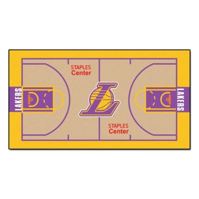 Los Angeles Lakers 2 ft. x 4 ft. NBA Court Runner Rug