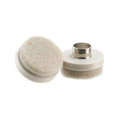 7/8 in. Nail-On Felt Pads (8 per Pack)
