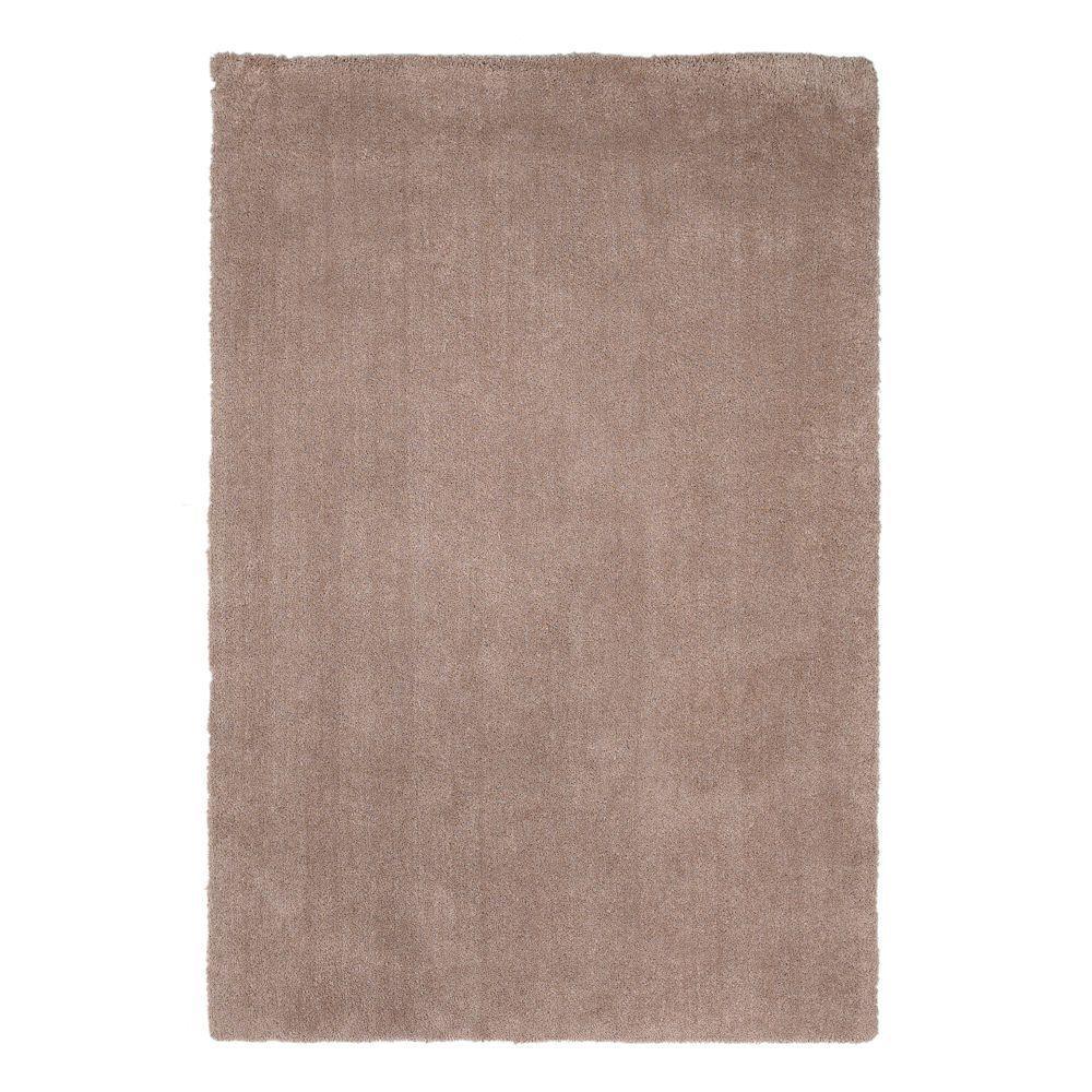 Cushy Shag Beige 9 ft. x 13 ft. Area Rug