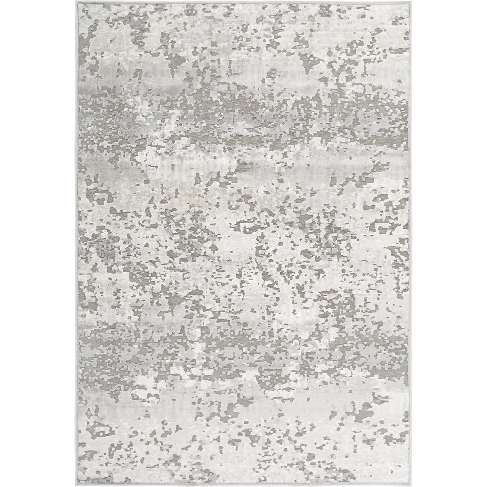 Nicole Miller Infinity Ivory Gray 5 Ft X 7 Ft Indoor Area Rug 2 118 123 The Home Depot