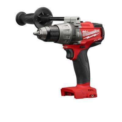 M18 FUEL 18-Volt Cordless Lithium-Ion Brushless 1/2 in. Hammer Drill/Driver (Tool-Only)