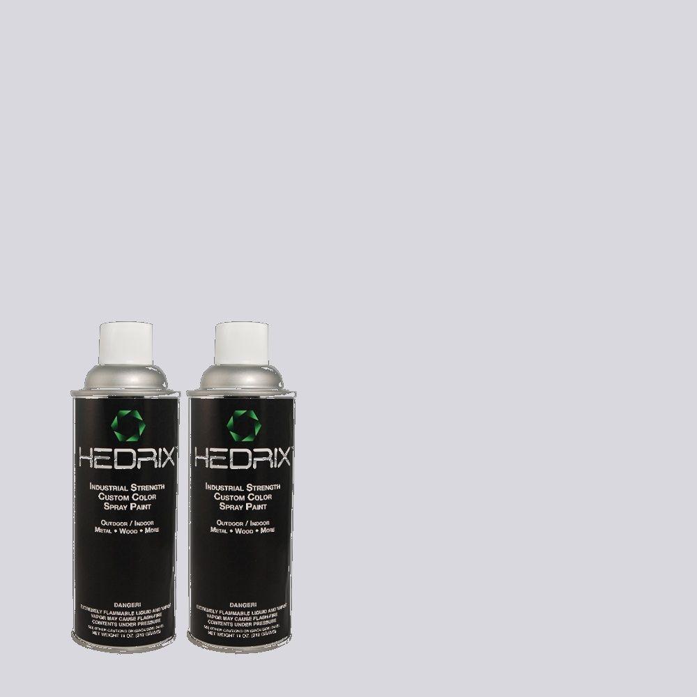 Hedrix 11 oz. Match of PPU16-8 Hint of Violet Gloss Custom Spray Paint (8-Pack)