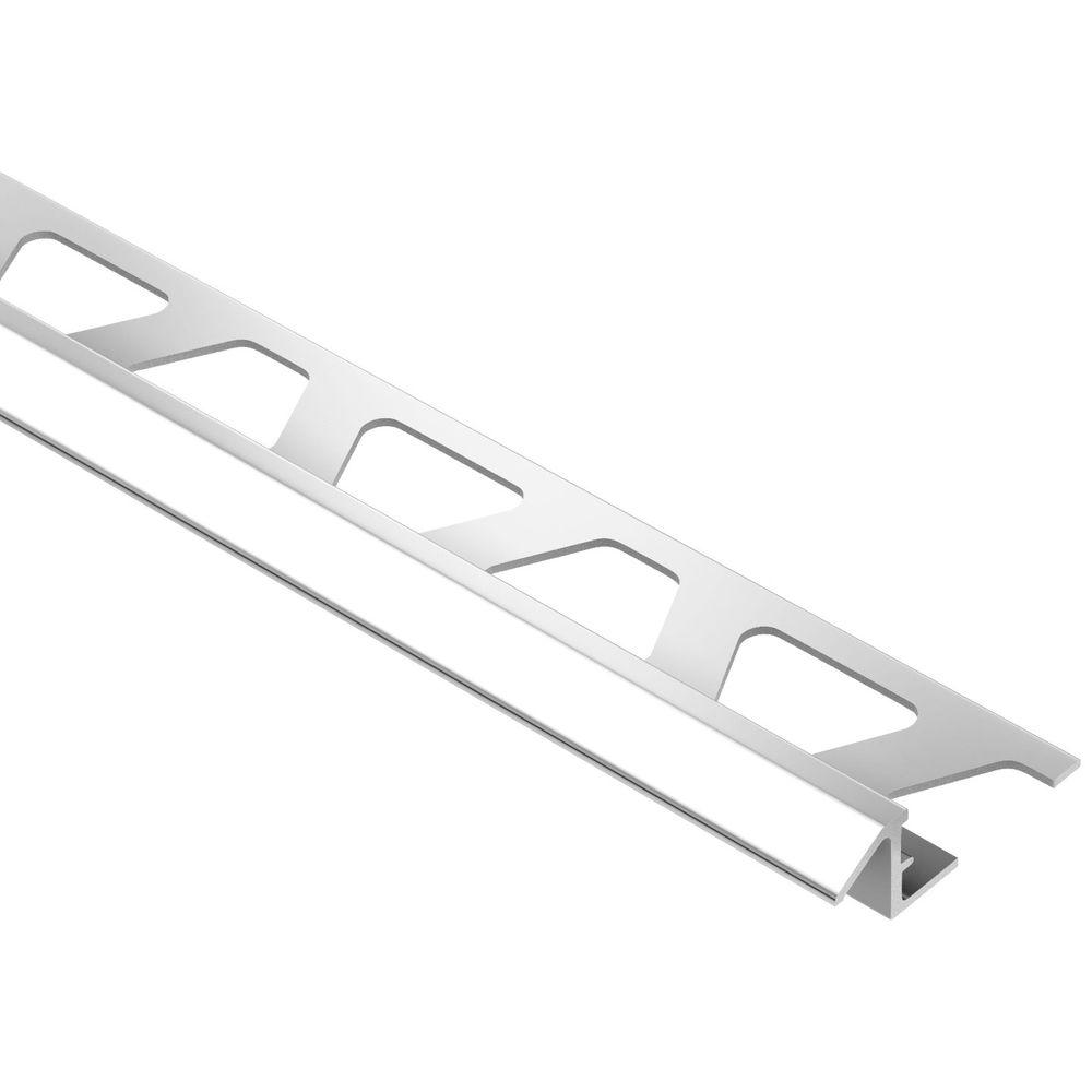 Reno-TK Bright Chrome Anodized Aluminum 5/16 in. x 8 ft. 2-1/2