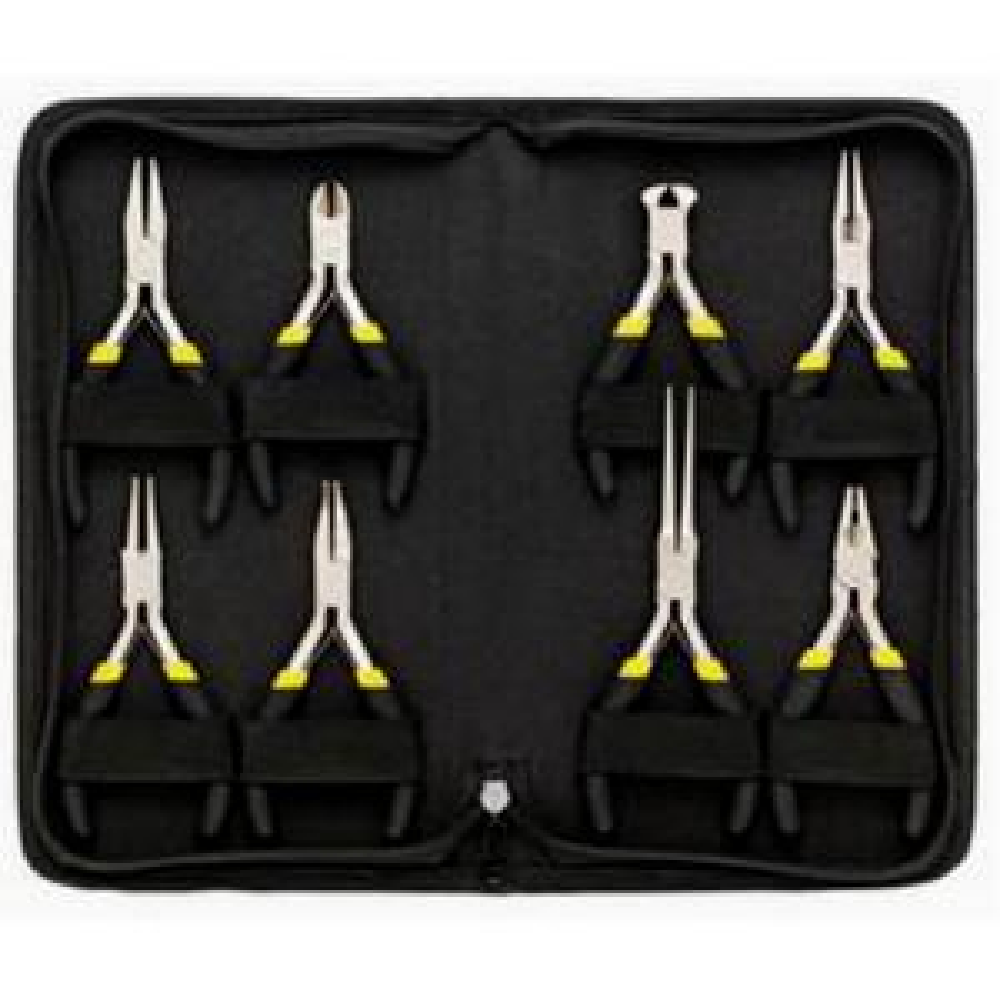 general tools technicians mini plier set 8 piece 938 the home depot. Black Bedroom Furniture Sets. Home Design Ideas
