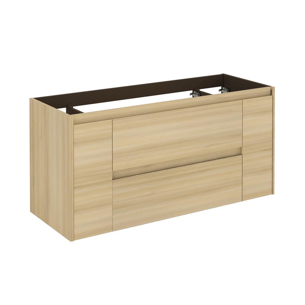 Ambra 47.5 in. W x 17.6 in. D x 21.8 in. H Bath Vanity Cabinet Only in Nordic Oak