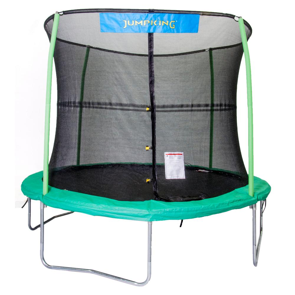 JUMPKING 10 Ft. Trampoline Enclosure Combo-JK1044