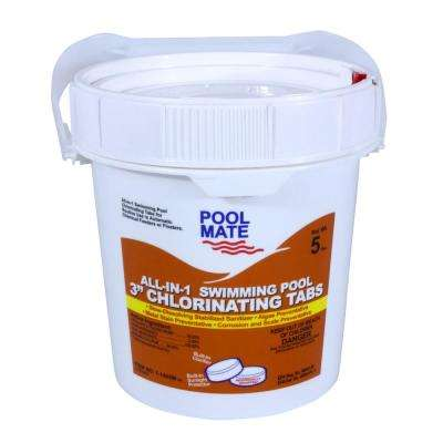 5 lb. Pool All-in-1 3 in. Chlorinating Tablets