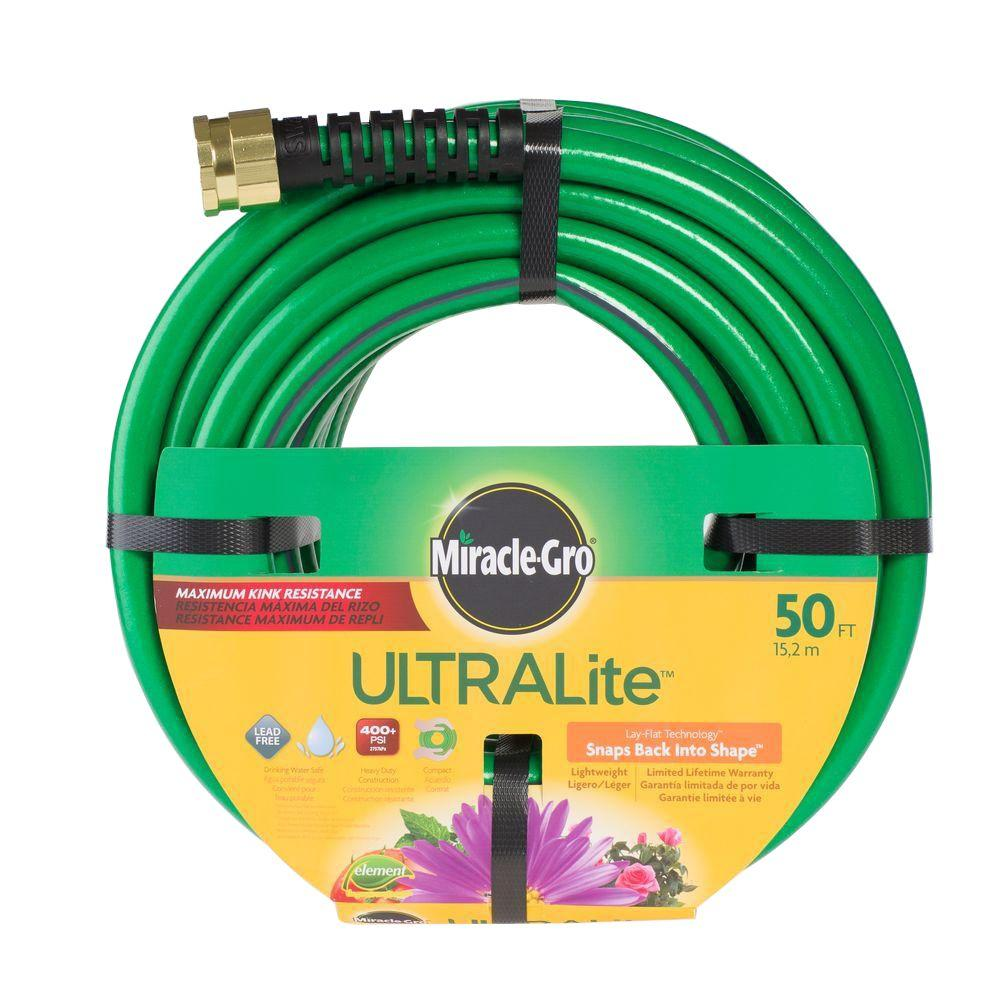 Miracle Gro Premium 1/2 in. Dia x 50 ft. Ultra-Light Wate...
