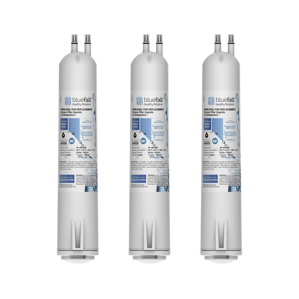 Drinkpod Usa Refrigerator Water Filter Replacement Cartridge Parts And Upgrade Compatible For Whirlpool 4396841 4396710 3