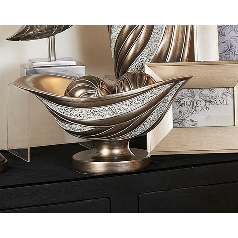 Kairavi Silver Decorative Bowl