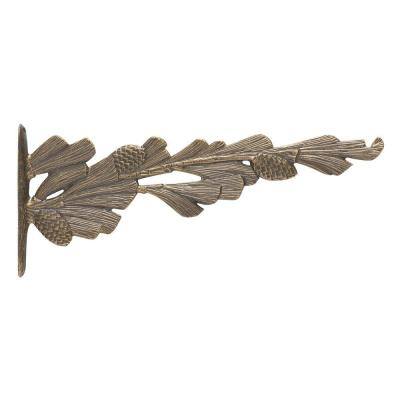French Bronze Pinecone Nature Hook