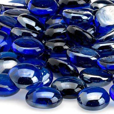 Royal Blue Luster Firebeads 10 lbs. Bag