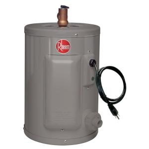 rheem performance 2 5 gal 6 year 1440 watt single element electric