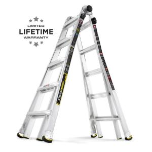 Deals on Gorilla Ladders 22 ft. MPX Aluminum Ladder 375 lb GLMPX-22