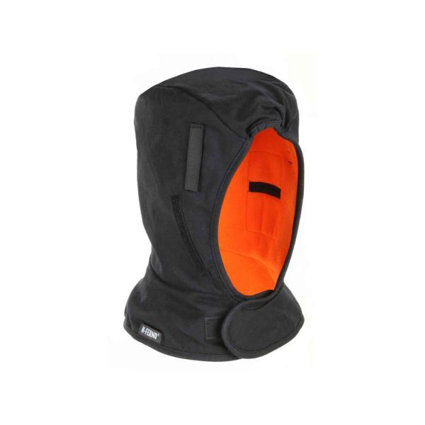 N-Ferno Shoulder Black 2-Layer Winter Hard Hat Liner