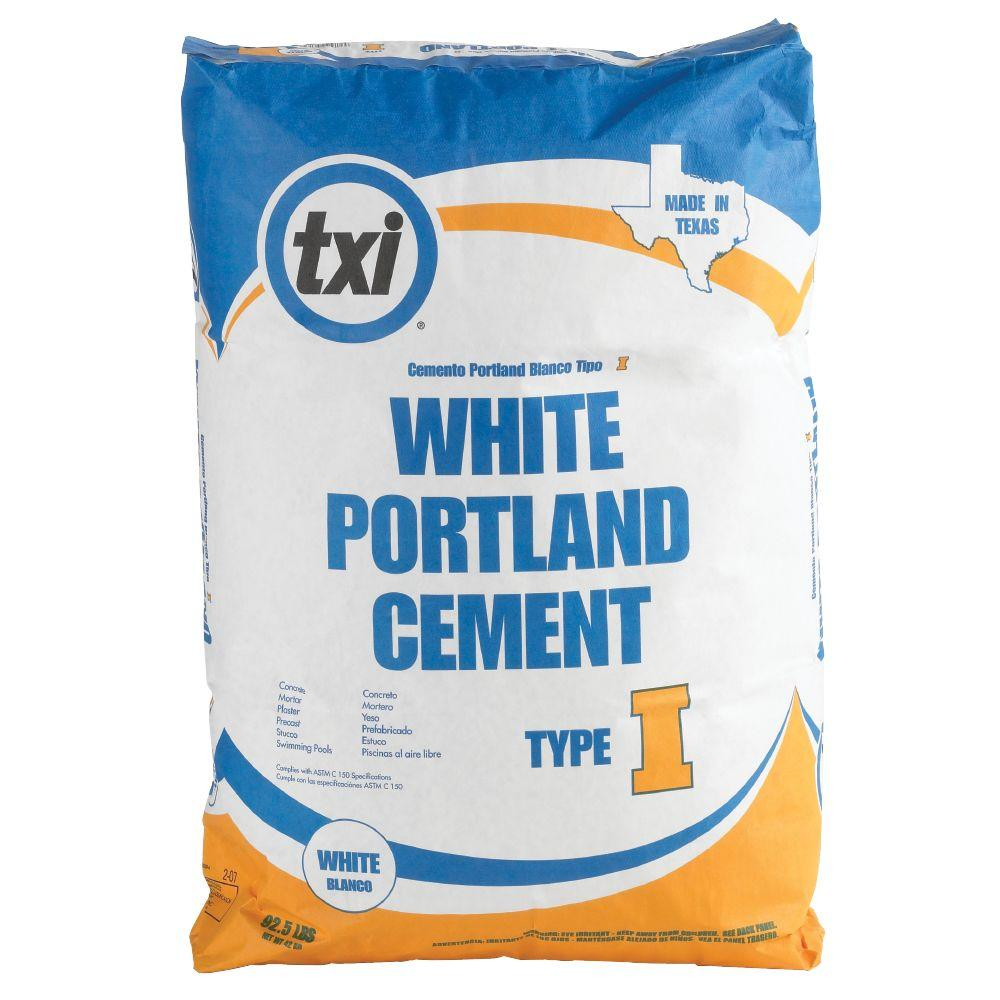 TXI 92-1/2 lb. Type I White Portland Cement