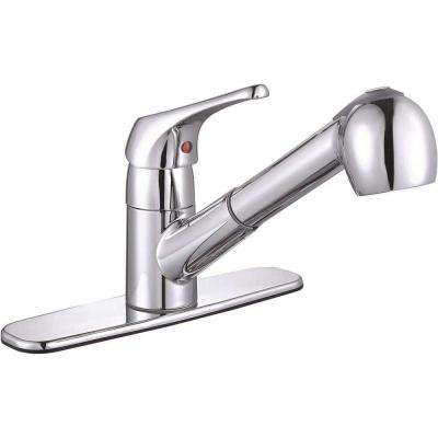Sonoma Single-Handle Pull-Out Sprayer Kitchen Faucet in Chrome