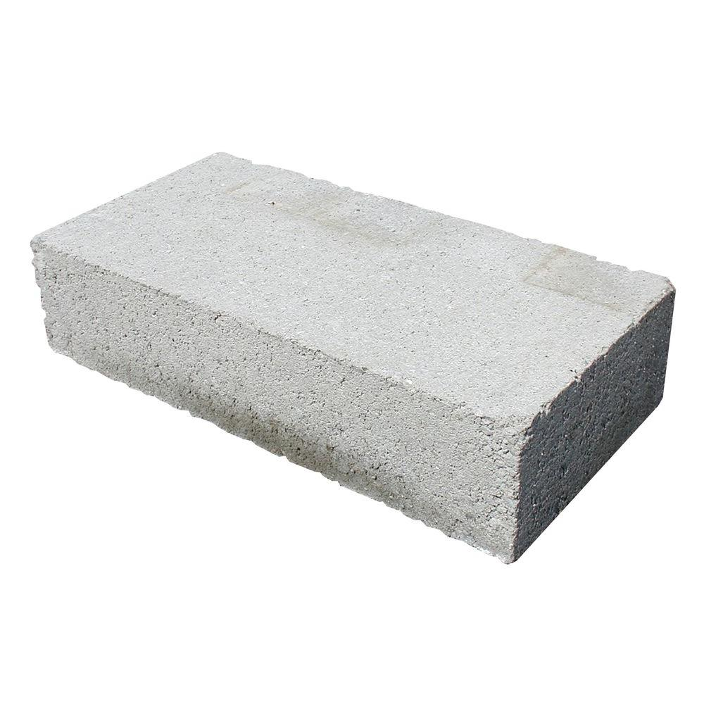 4 In. X 8 In. X 16 In. Solid Concrete Block-30168621