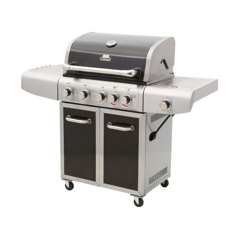 6-Burner Propane Gas Grill
