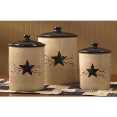 Ceramic Kitchen Canisters Food Storage The Home Depot