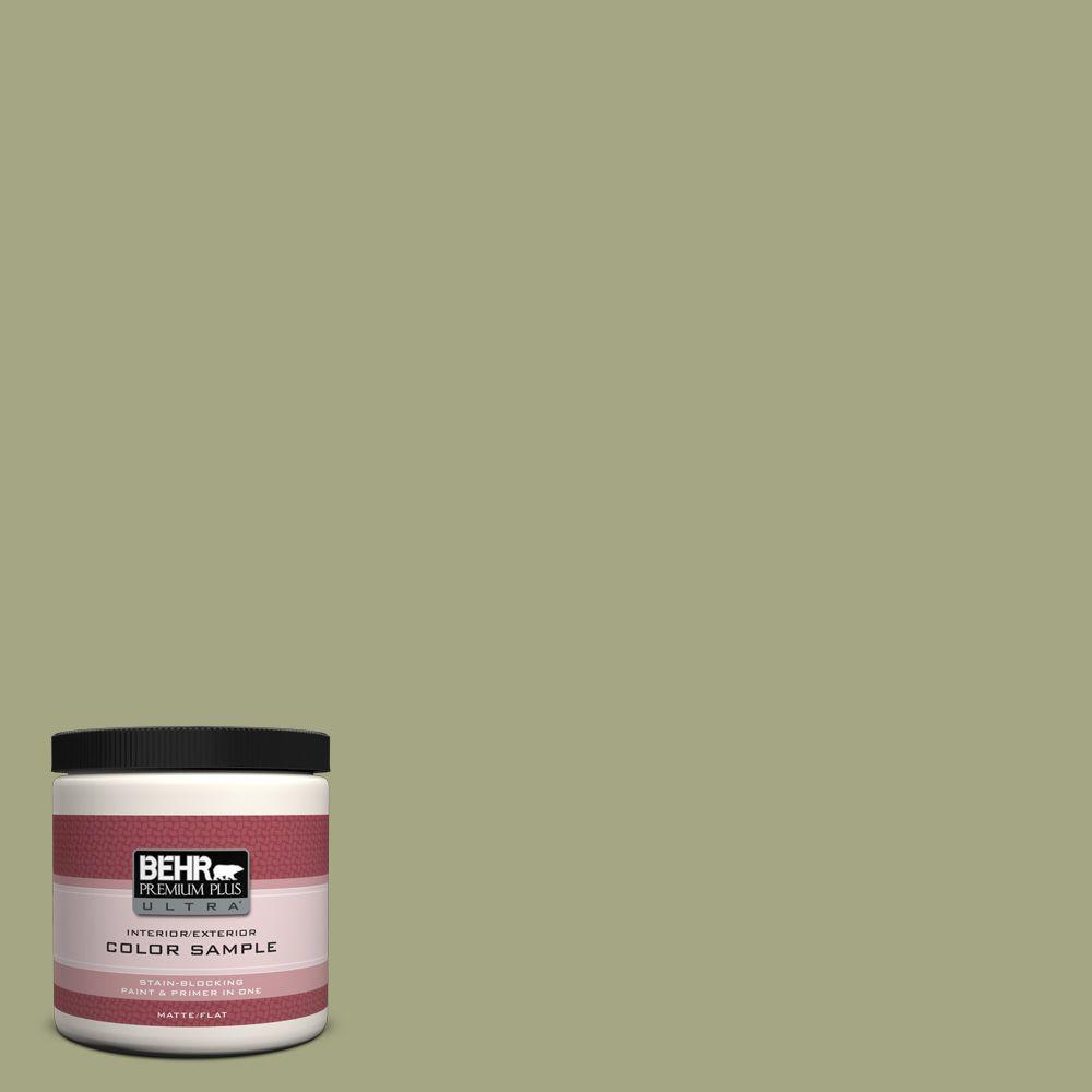 BEHR Premium Plus Ultra 8 oz. #S370-4 Rejuvenation Interior/Exterior Paint Sample