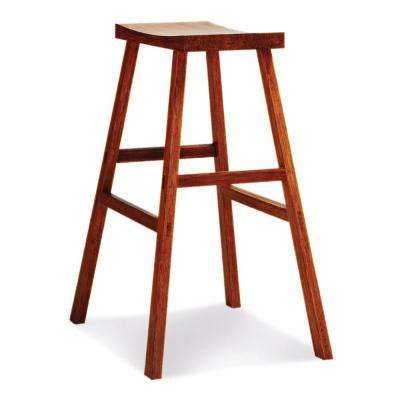 Holly 30 in. Exotic 100% Solid Bamboo Bar Stool (Set of 2)