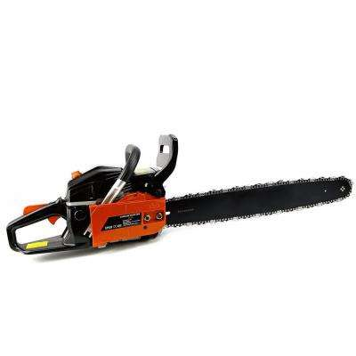 22 in. 45 cc 2-Cycle Gas Chainsaw Wood Cutter with Automatic Chain Oiler