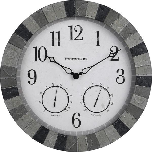 Graystone Outdoor Clock