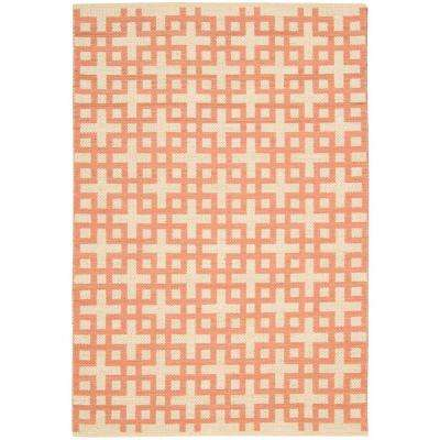 Maze Mango 7 ft. 9 in. x 10 ft. 10 in. Area Rug