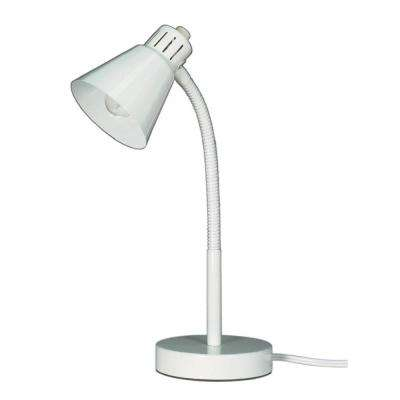 Joy 9 in. White Desk Lamp