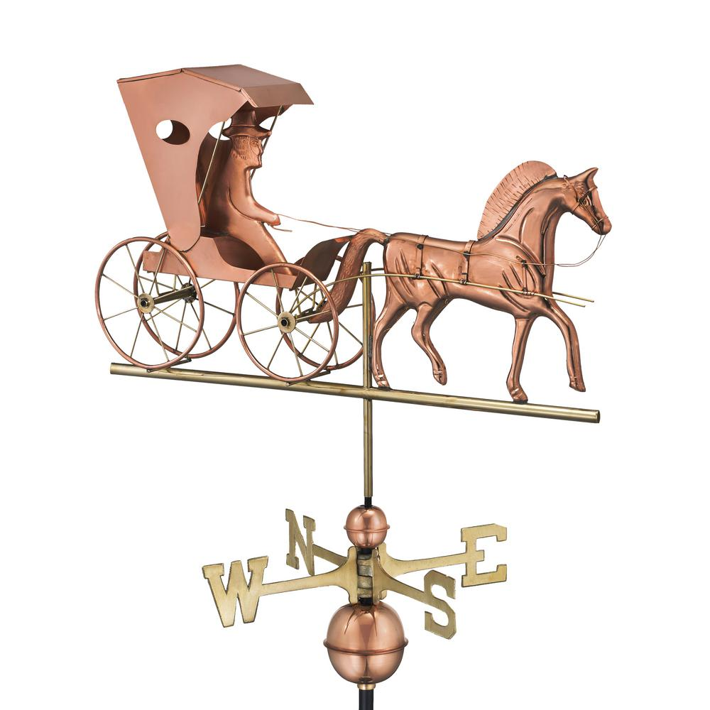 Country Doctor Weathervane - Pure Copper