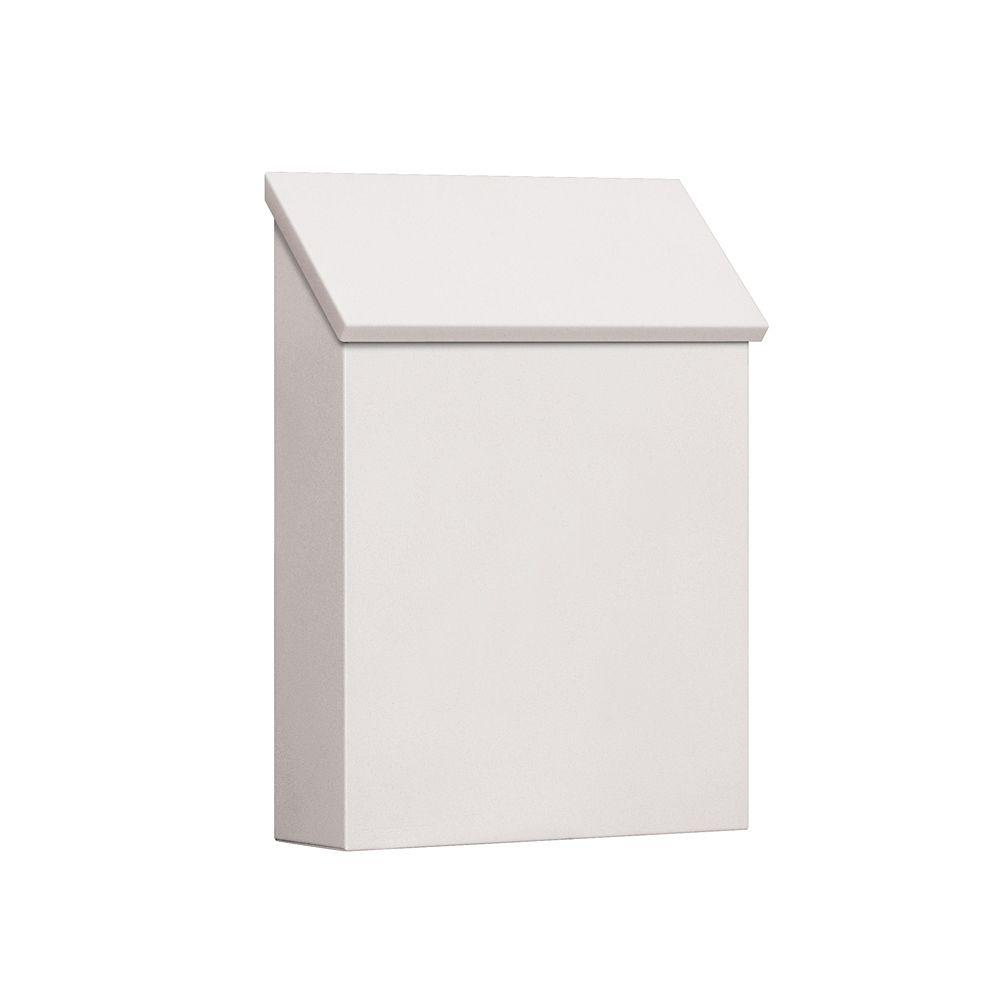 Salsbury Industries 4600 Series White Standard Vertical Traditional Mailbox