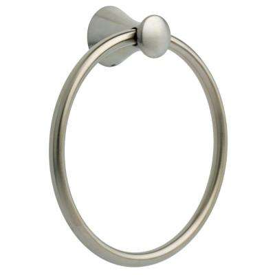 Somerset Towel Ring in Brushed Nickel