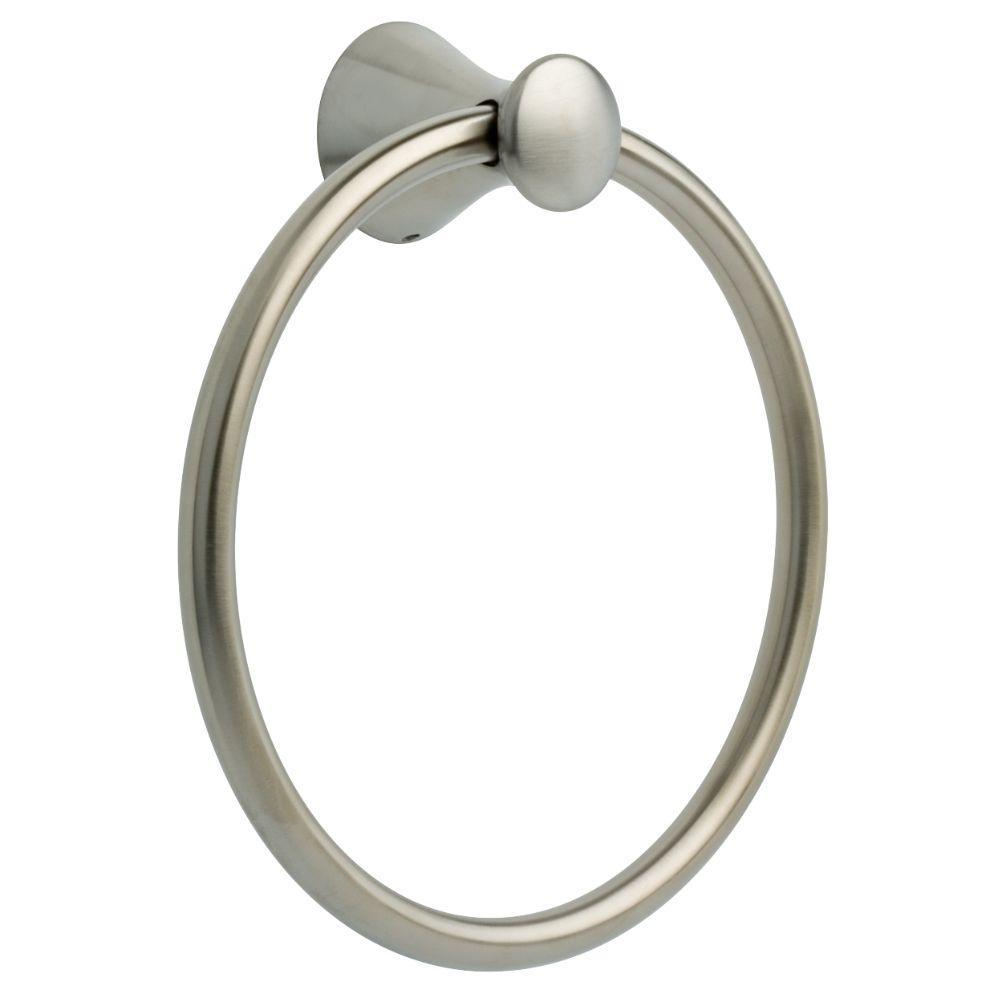 Somerset Towel Ring in Brushed Nickel