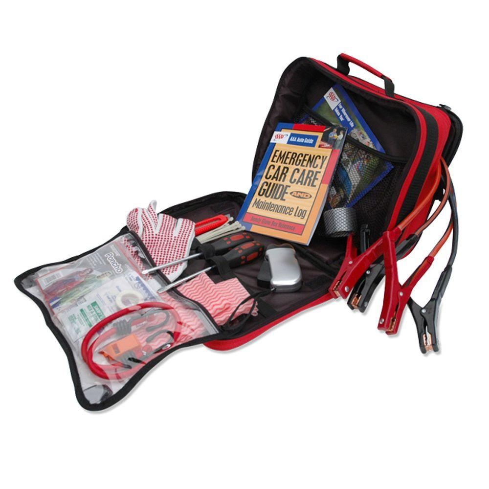 AAA Emergency Road Explorer Safety and First Aid Kit 70-Piece
