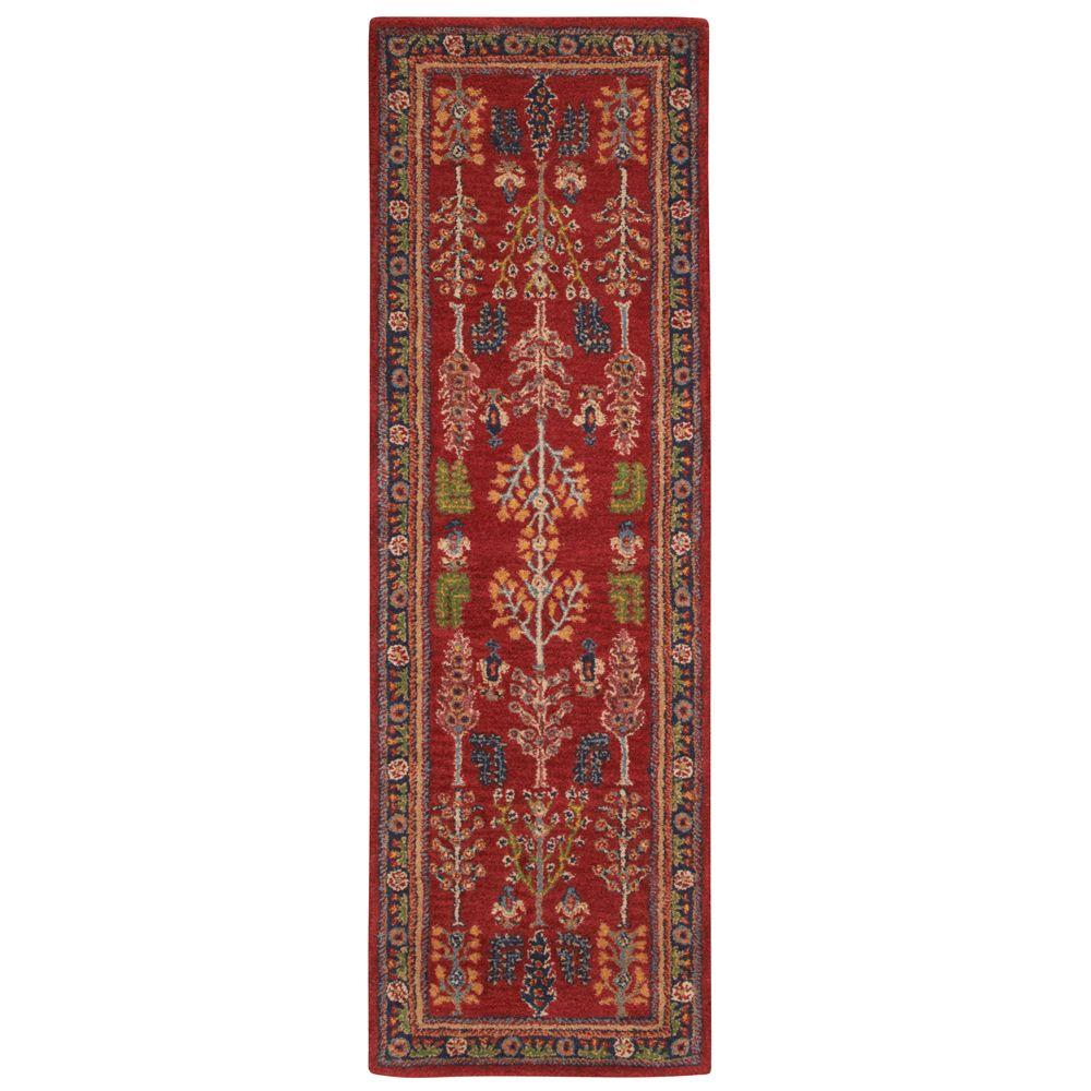 Home Decorators Collection Regency Red 2 Ft 6 In X 8 Ft