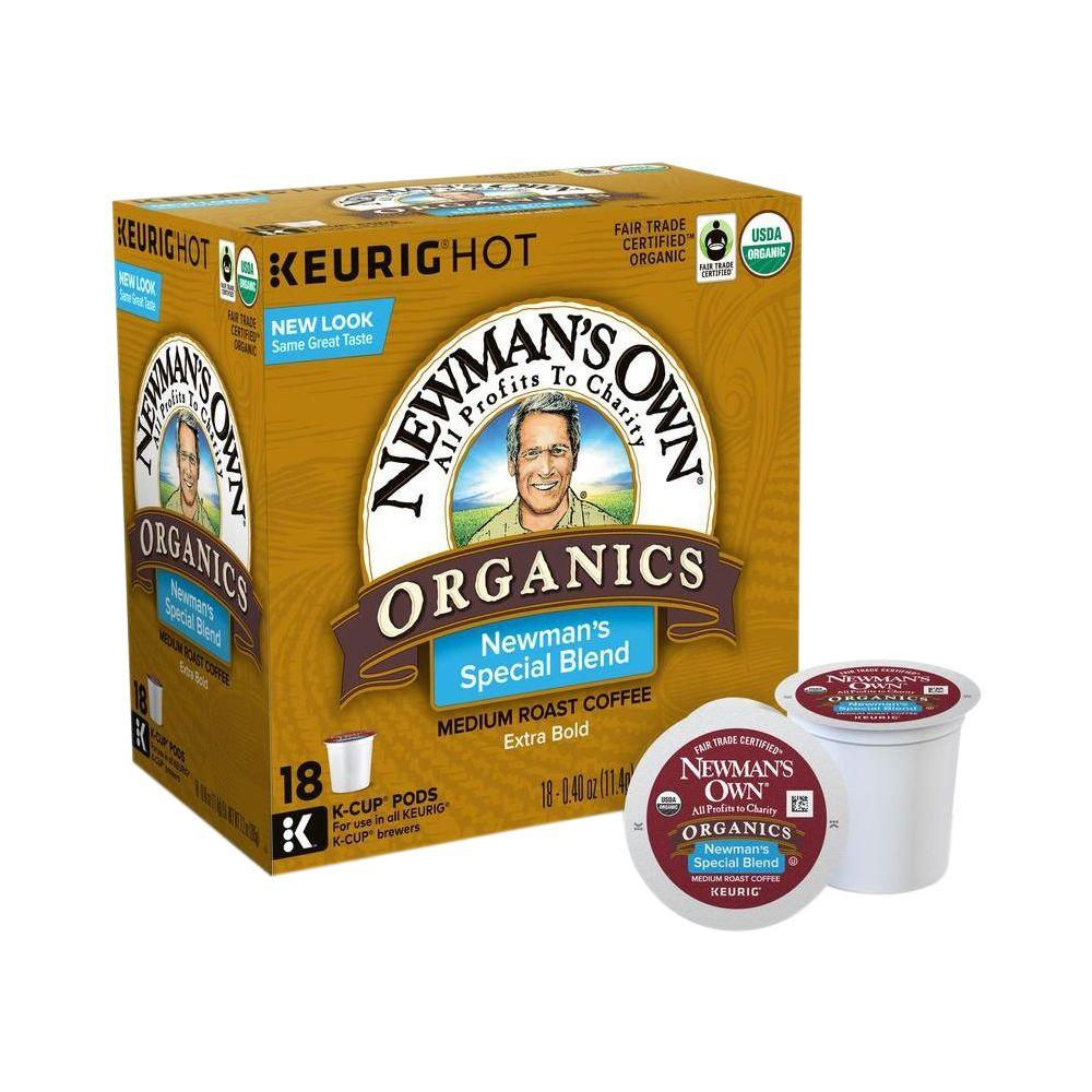 KEURIG Kcup Pack Newmans Special Blend 108 Count
