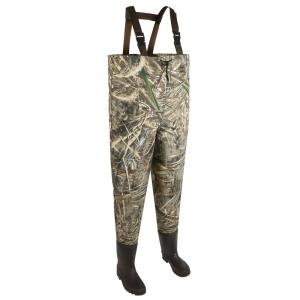 Click here to buy Allen Ridgeway 2-Ply Bootfoot Camo Waders, Size 10, Realtree MAX-5 Camo by Allen.