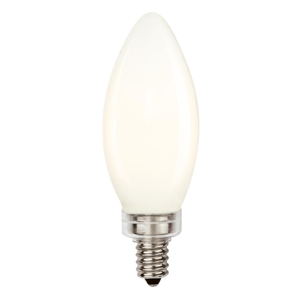 40W Equivalent Soft White B11 Dimmable Filament LED Light Bulb