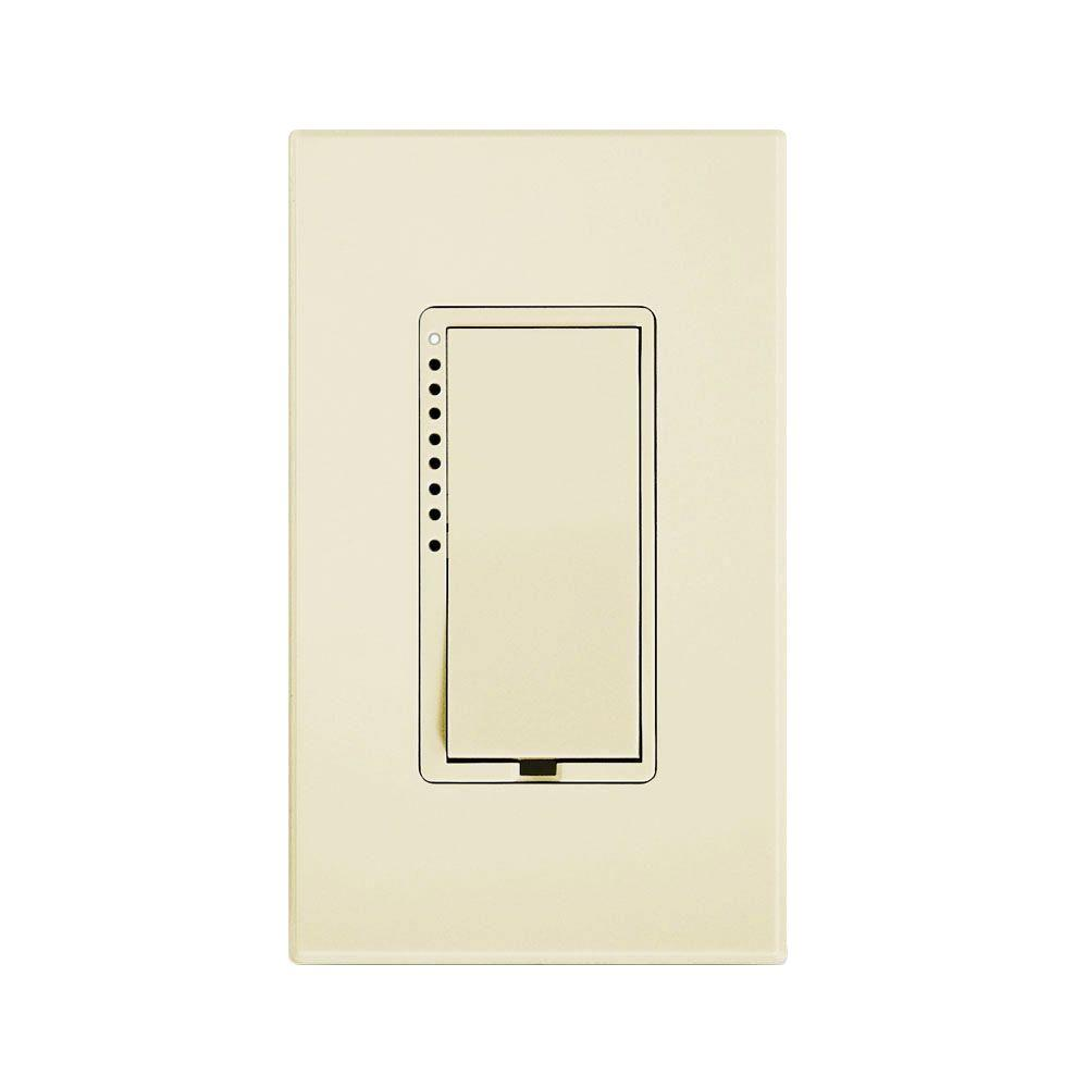 1800-Watt On/Off Remote Control Switch (Dual-Band) - Ivory