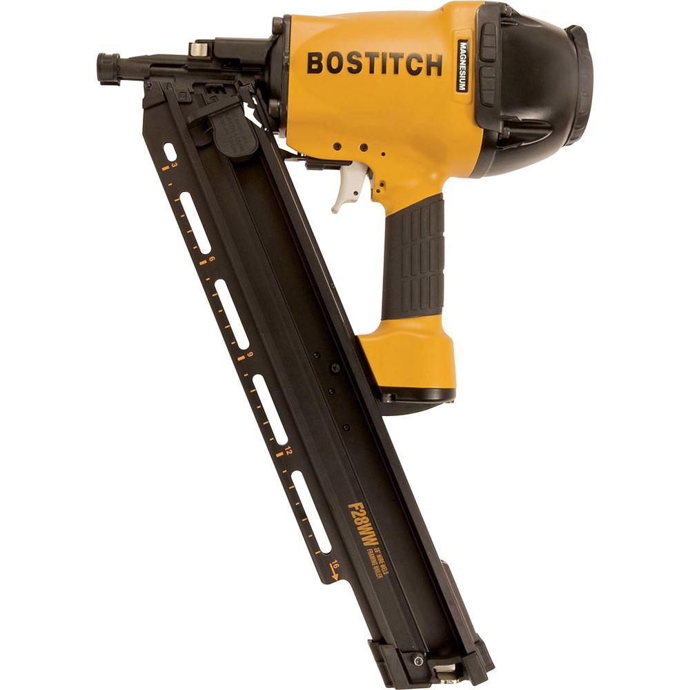 bostitch  28-degree 2 in  - 3-1/2 in  wire weld framing nailer
