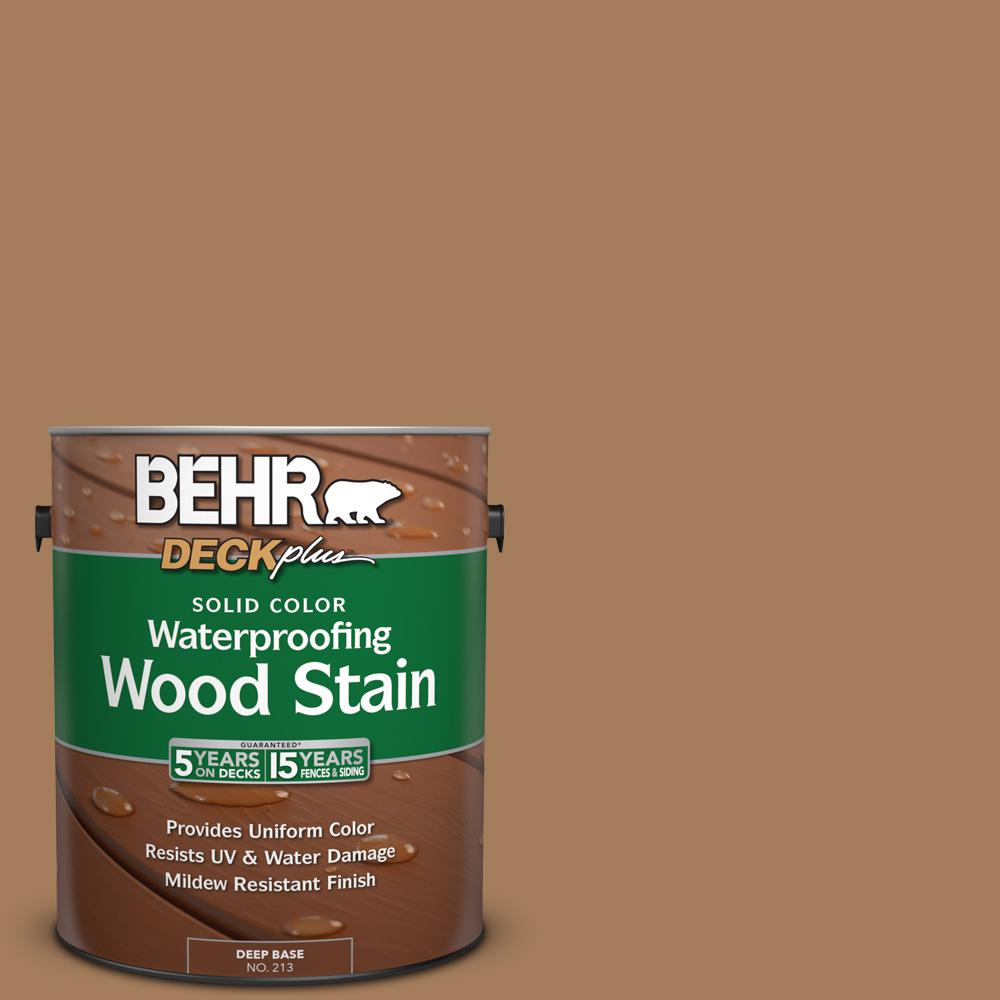 1 gal. #SC-158 Golden Beige Solid Color Waterproofing Wood Stain