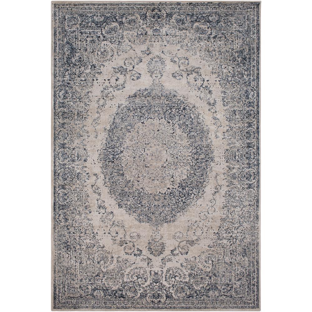 Artistic Weavers Natalius Medium Gray 8 ft. x 10 ft. Indoor Area Rug
