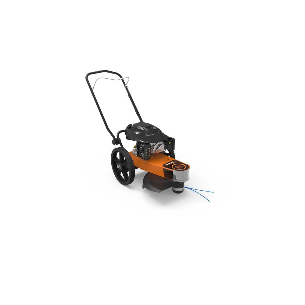 PRO 22 in. 174 cc Generac Gas Walk-Behind Manual Start Trimmer Mower