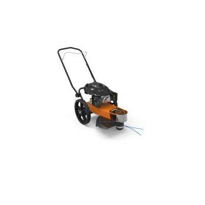 PRO 22 in. 174 cc Generac Gas Walk-Behind Manual Start Trimmer Mower