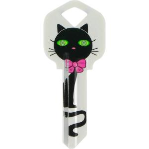 The Hillman Group 66 Diva Black Cat House Key 87058 The